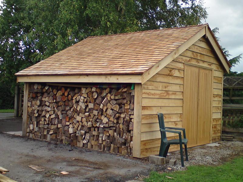 High quality building work david wakefield building services for Cedar clad garage doors